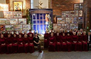 Калядны канцэрт прадставілі ў свята Святой Сям'і ў гродзенскай парафіі Найсвяцейшага Адкупіцеля